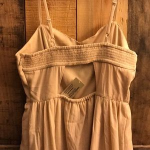 American Eagle Outfitters Dresses - American Eagle blush beaded dress